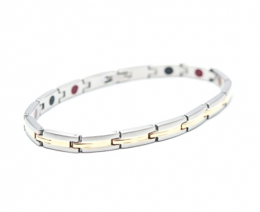TBands Luxe Serie sleek silber/gold