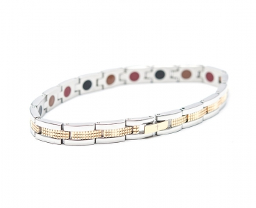 TBands Luxe Serie slate silber/gold