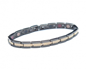 TBands Luxe Serie slate schwarz/gold
